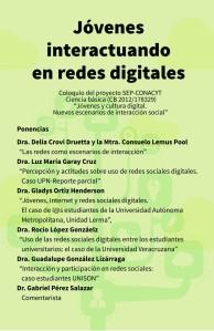 Seminario: Jóvenes Interactuando en Redes Digitales